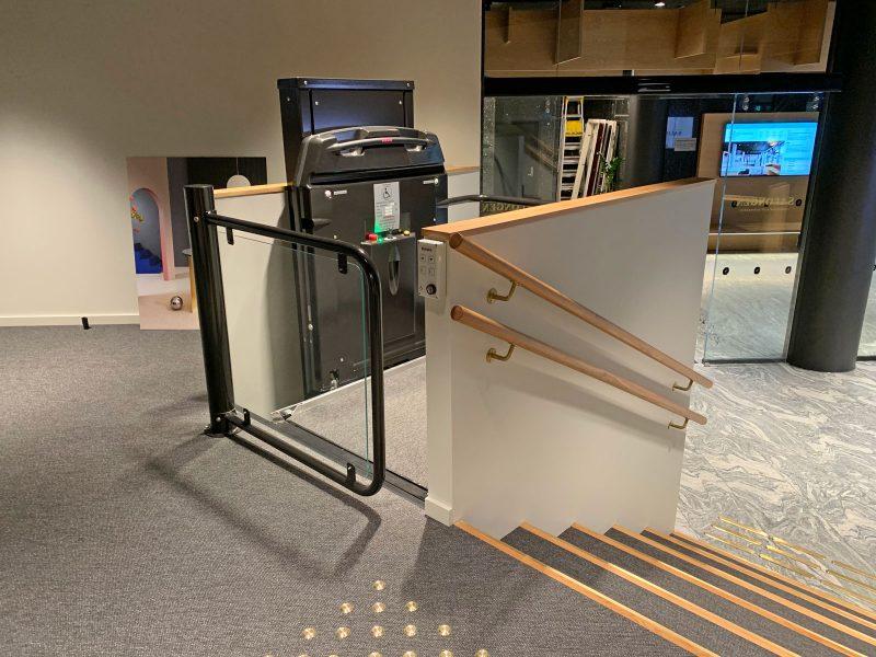 Elegant lift solution in Oslo City Centre